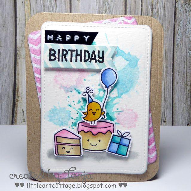 Little Art Cottage: Happy Birthday Cake