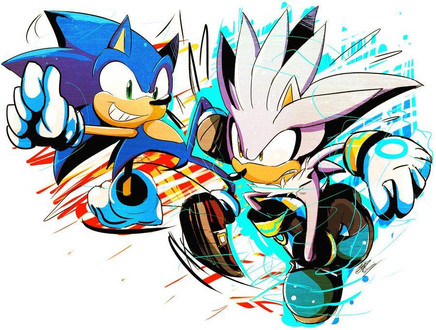 Sonic VS Silver By Silveromi.deviantart.com On @deviantART