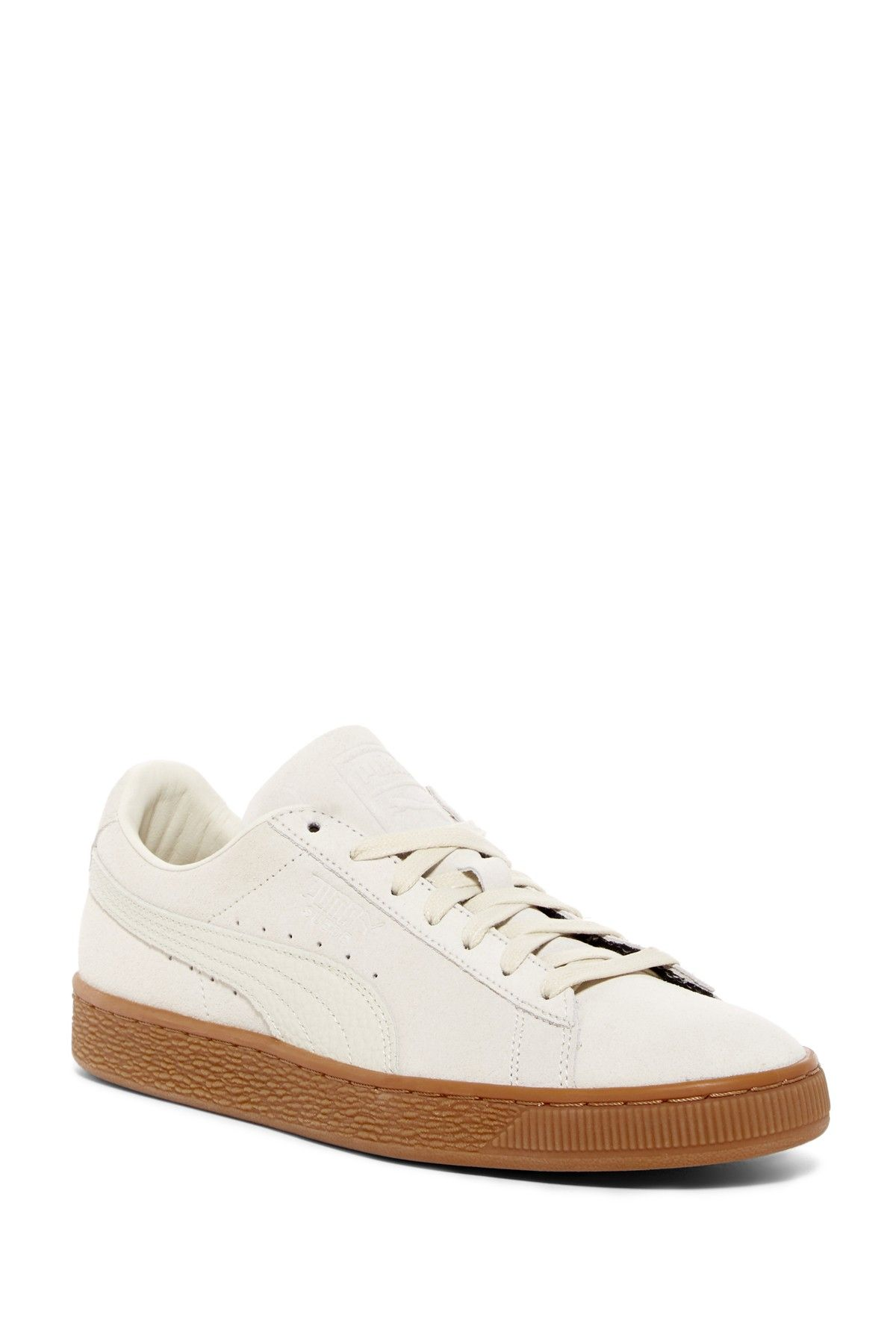La Chaussure Puma Clyde Schoenen Naturel Ee q1hjGAS6R