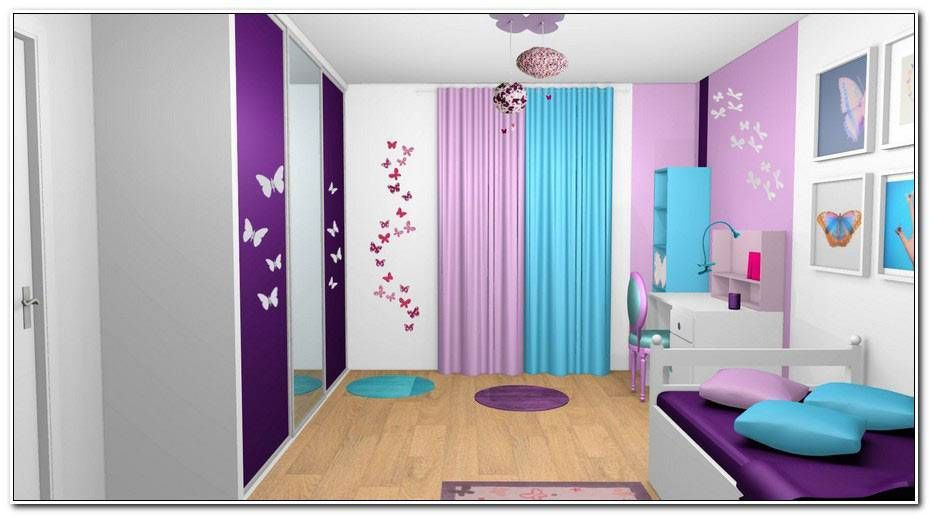 Chambre Ado Fille Bleu Turquoise In 2020 Home Decor Home
