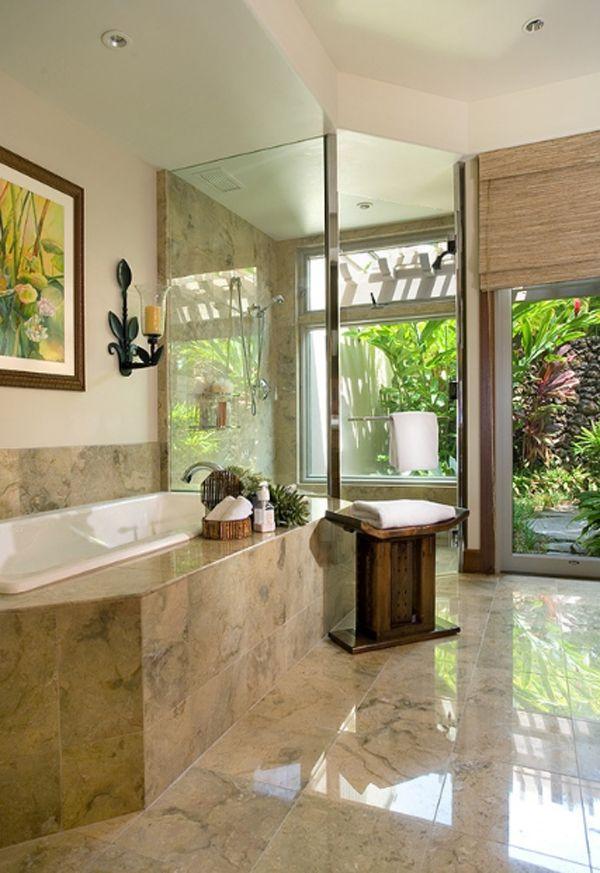 15 Awesome Outdoor Bathroom Design Ideas | Home | Pinterest ...