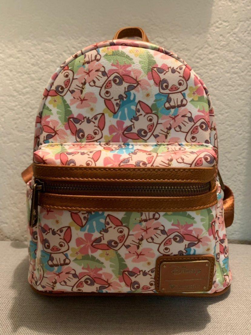 loungefly anime mini backpack