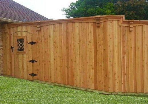 Privacy Fences 8 Tall Board On Board Cedar Fence Wood Privacy Fence Cedar Fence Backyard Fences