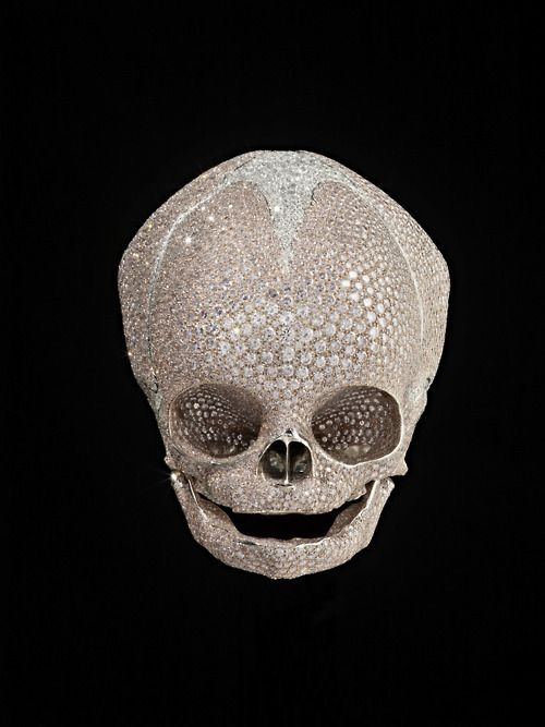 Baby Skull Damien Hirst Forgotten Promises Gagosian Gallery