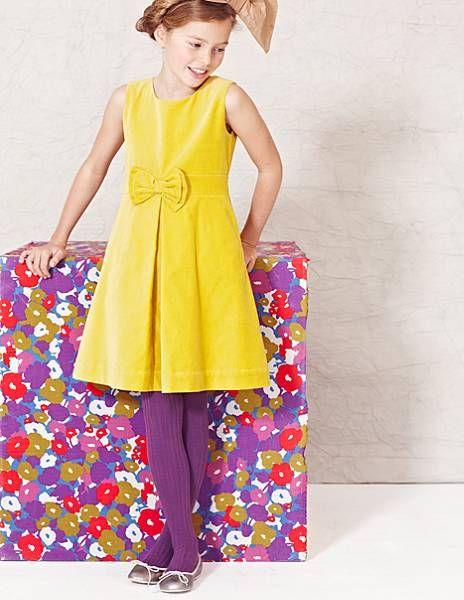 Mini Boden Velvet Party Dress
