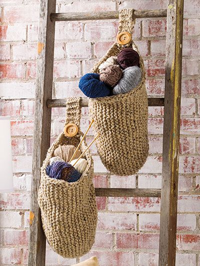 Happy Baskets Knit Pattern From Anniescraftstore Order Here