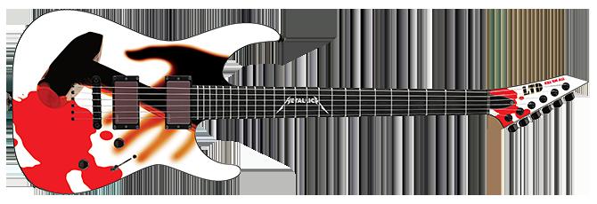 Esp Ltd Kill Em All Guitar Esp Guitars Electric Guitar