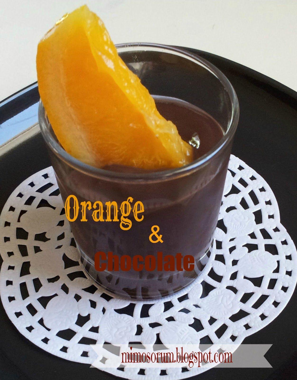 Receta: Delicioso postre casero de Naranjas con chocolate negro. Recipe: Chocolate Oranges