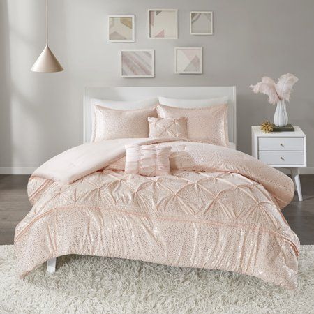 Home Essence Apartment Melody Metallic Comforter Set Image 2 Of 9