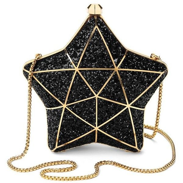 Ladies Star Bucket Bag Women/'s Sparkling Diamante Star Crossbody Shoulder Bag