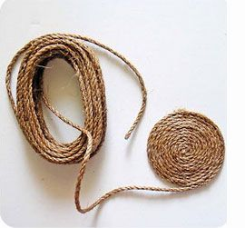 Home-Dzine - How to make jute, sisal, twine or cotton rope