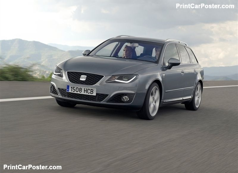 Seat Exeo St 2012 Poster