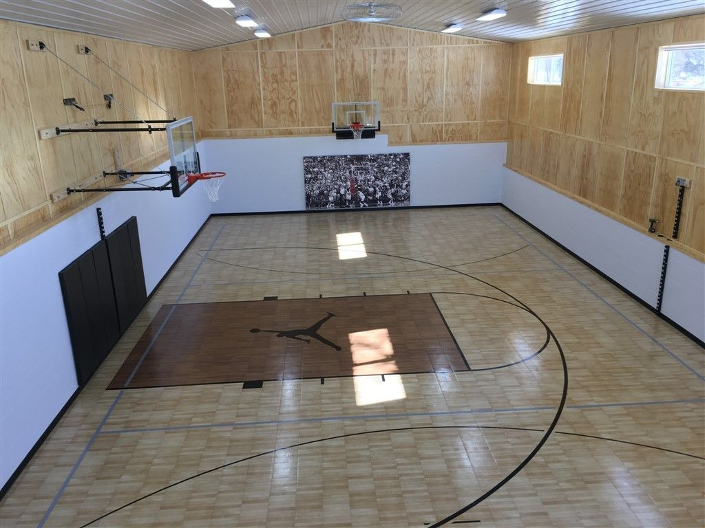 Maple Tuffsheild Volleyball And Basketball Lines Custom Air Jordan Wall Pad Black Wall And Corner Pads 1024 Indoor Basketball Court Indoor Basketball Indoor