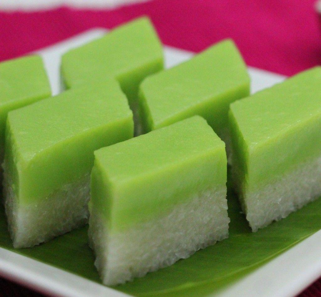 Salah Satu Bahan Yang Sering Digunakan Untuk Membuat Kue Adalah Beras Ketan Resep Kue Talam Ketan Legit B Asian Desserts Indonesian Desserts Traditional Cakes