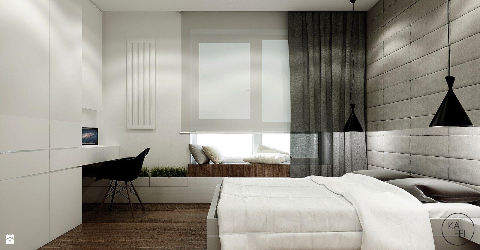 Window seat with bed  zdjęcie sypialnia styl nowoczesny  sypialnia  styl nowoczesny