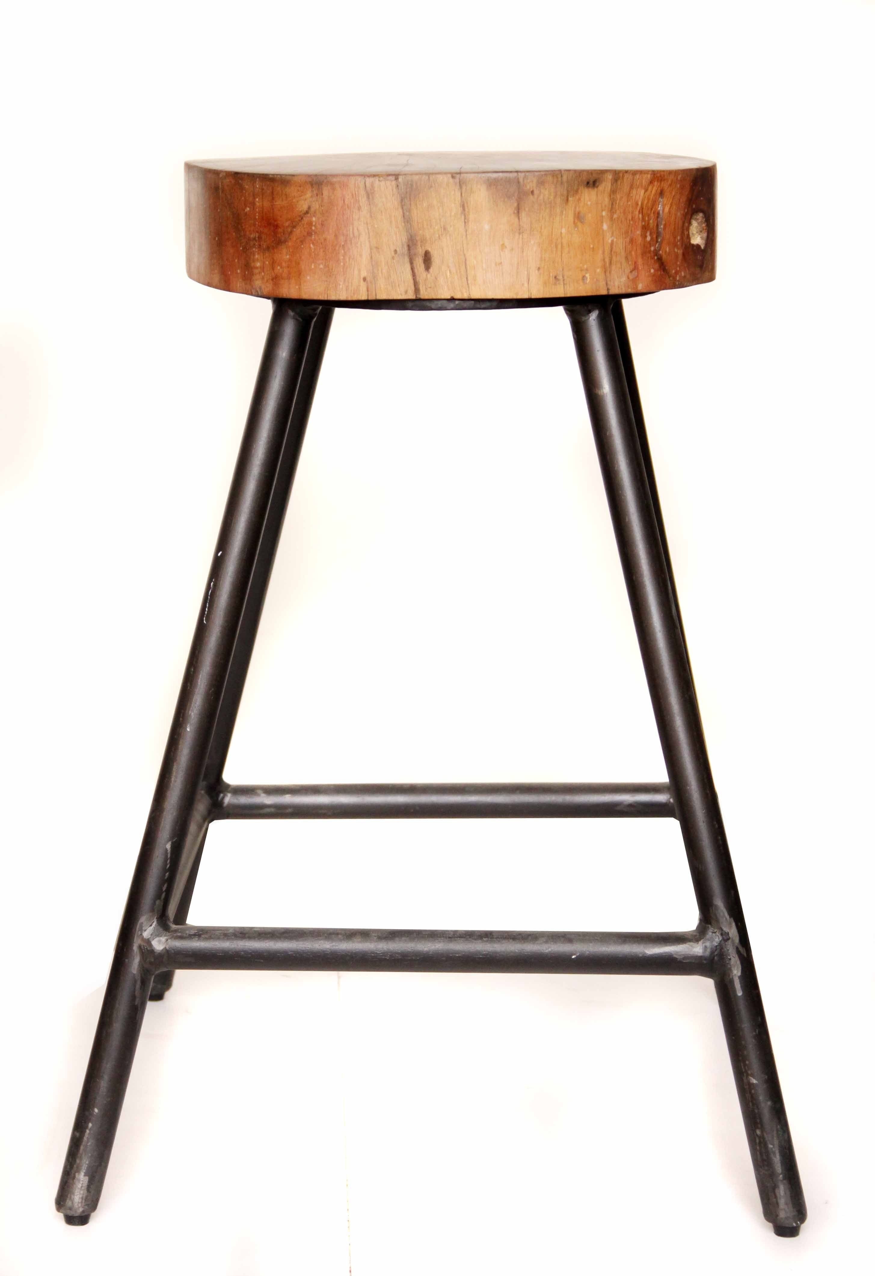 Tree Top Stool The Top Of This Versatile Stool Has Been Made