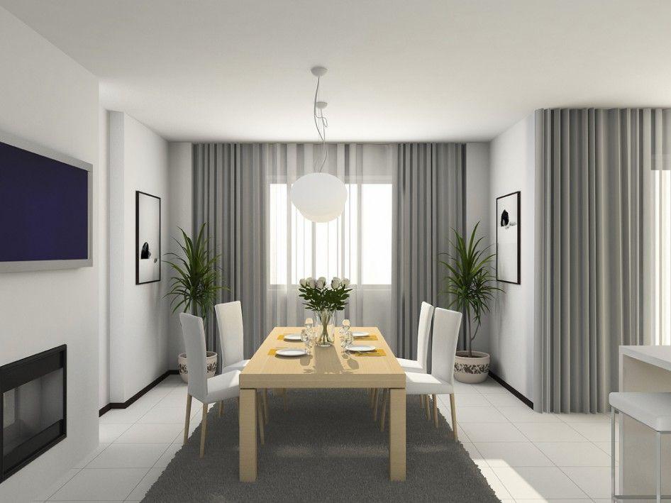 extraordinary cafe curtain living room   Extraordinary-dining-room-curtain-ideas-with-grey-verdana ...