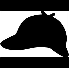 Image result for sherlock hat logo