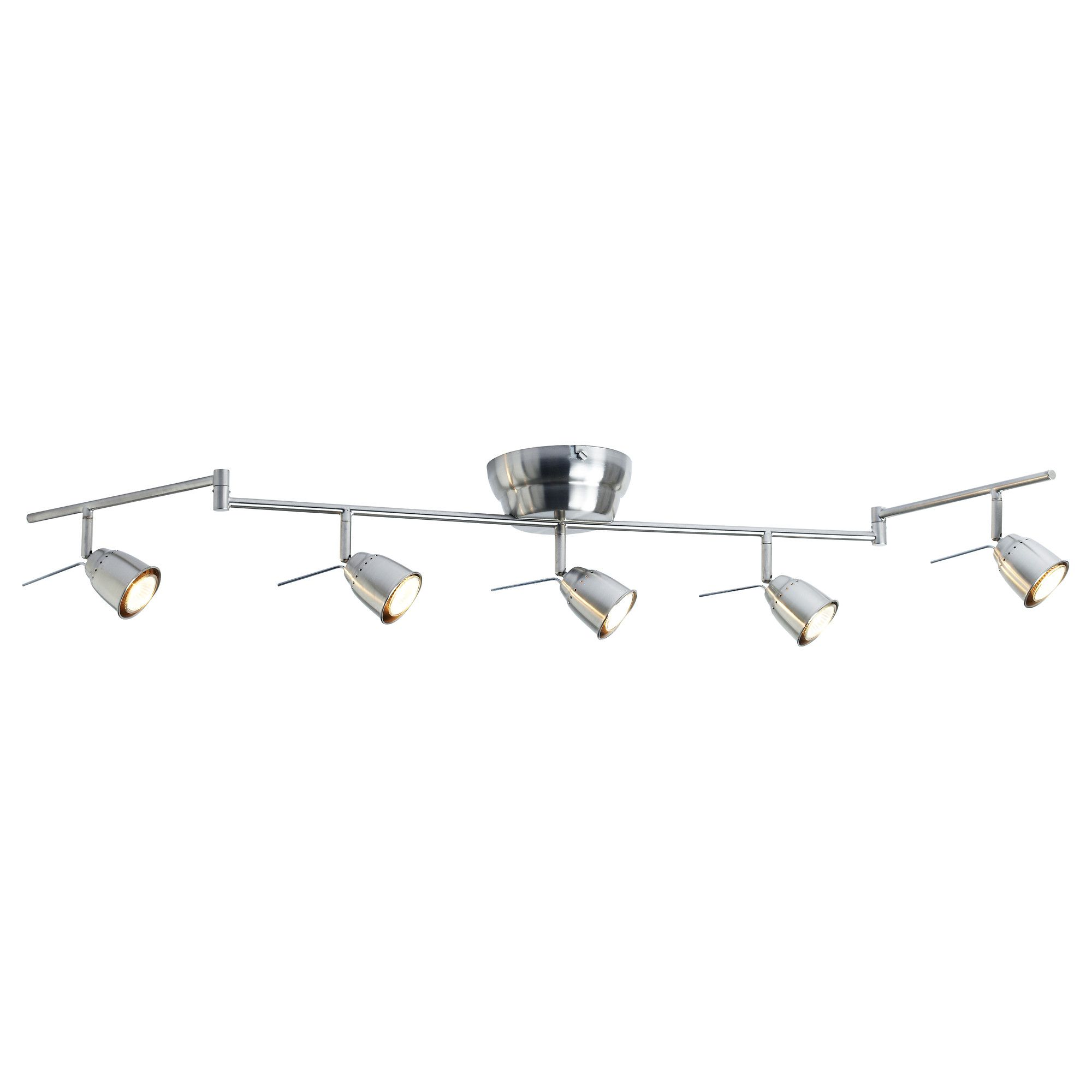 Barometer Ceiling Track 5 Spots Nickel Plated Ikea Ceiling