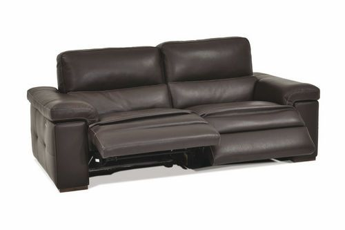Surprising Contemporary Leather Recliner Sofa Stresa Incanto Group Dailytribune Chair Design For Home Dailytribuneorg
