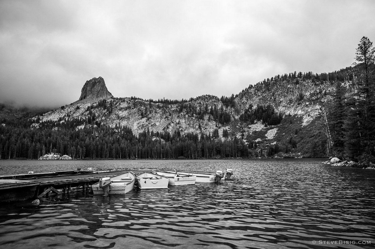 Dockside at lake mammoth lakes california 2015