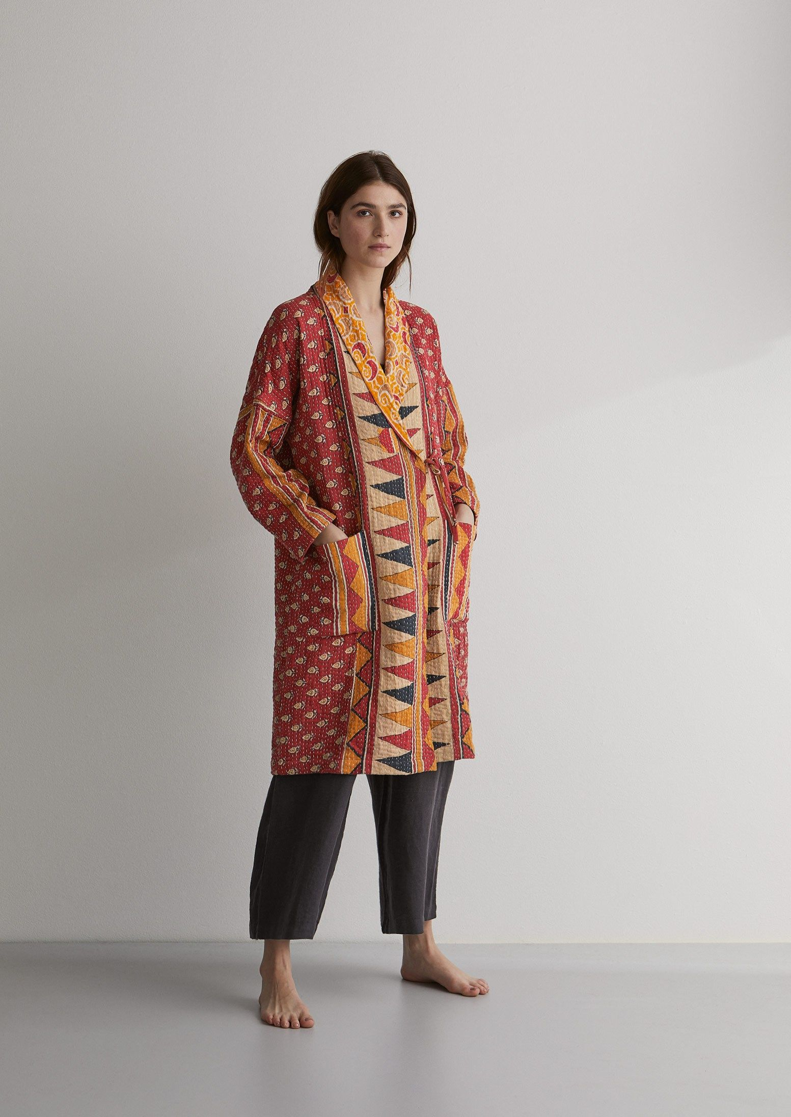 da2e1824cc Kantha Quilted Coat in 2019 | Things I Love | Kantha quilt ...