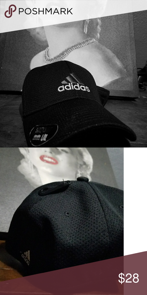 0d072e25df09f Adidas Cap Stretch Fit Black unisex Adidas cap stretch fit new with tags  Nike Accessories Hats