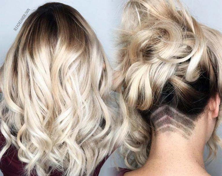 Undercut Long Hair Long Undercut Hairstyles And Haircuts For Women Longhairstylestips Undercut Long Hair Undercut Hairstyles Hair Styles