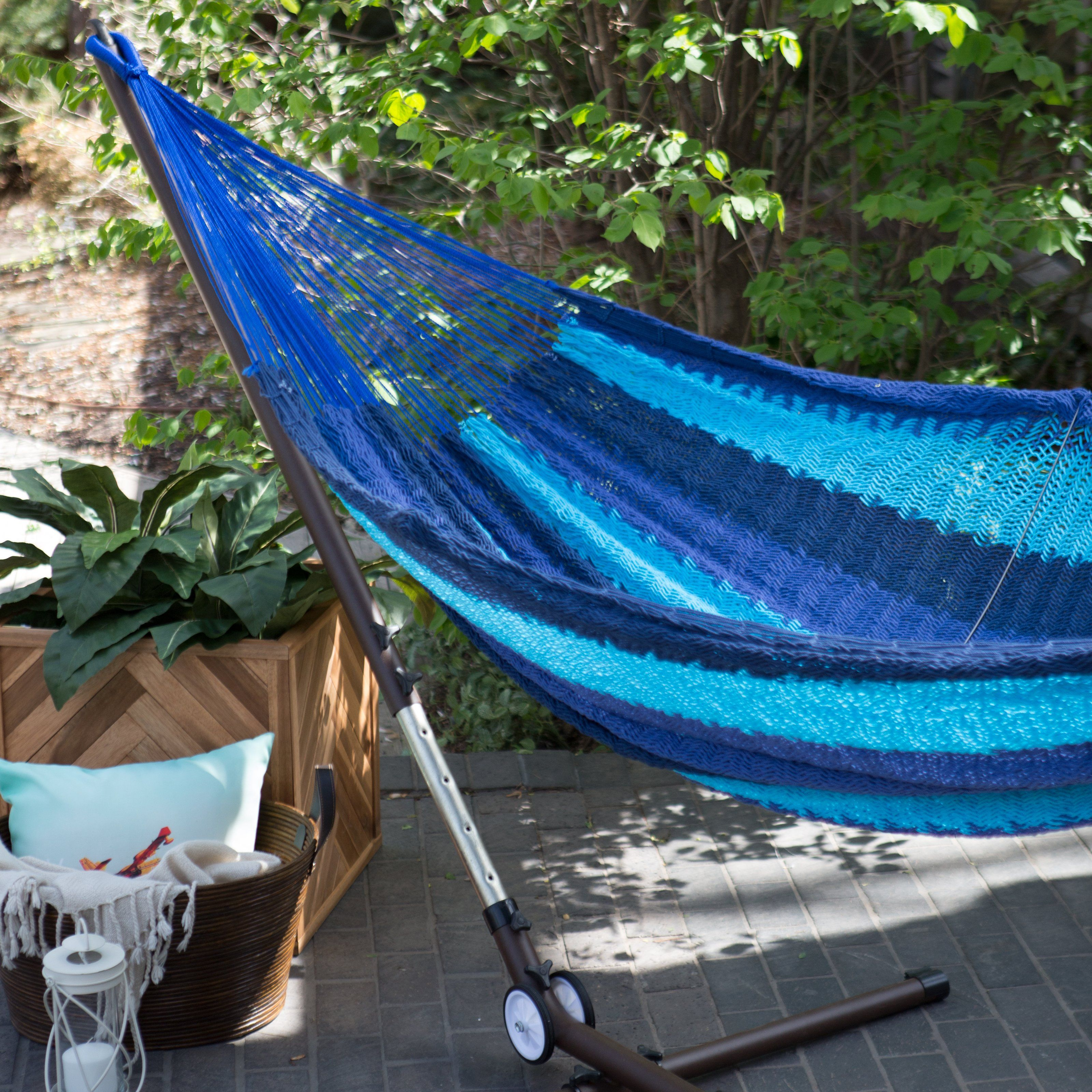 island bay xxl caribbean stripe thick string mayan hammock with adjustable have to have it  island bay xxl caribbean stripe thick string      rh   pinterest co uk