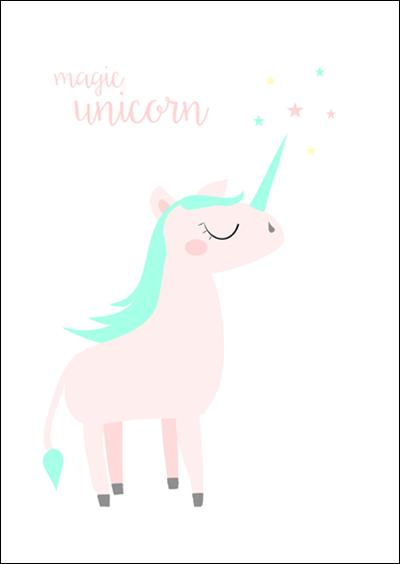 Darmowe Plakaty Dla Dzieci Unicorns Unicorn Painting