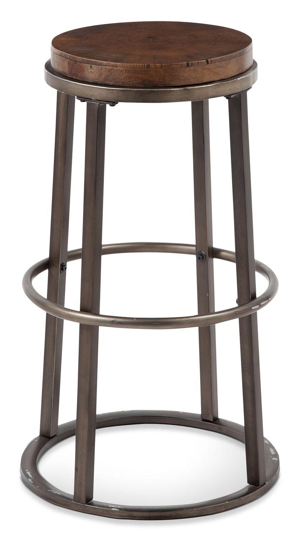 "Dining Room Furniture - Glosco 30"" Round Bar Stool"