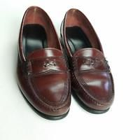 e2d3583dafe G. H. Bass   Co Shoes Penny Loafers Mens Size 8.5 Leather Flat Slip On Brown