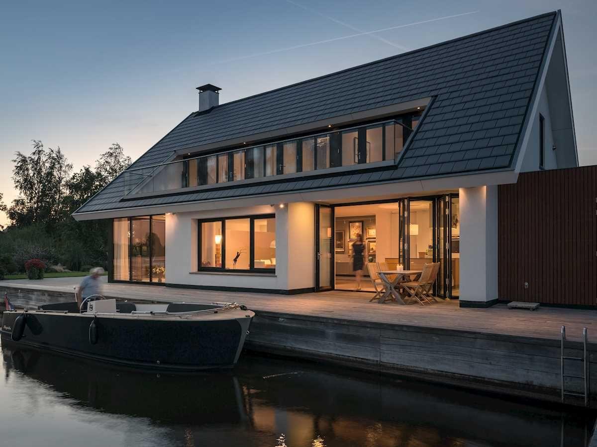 GlasFaltwandSL 80 Ferienhaus, Style at home, Falttür glas