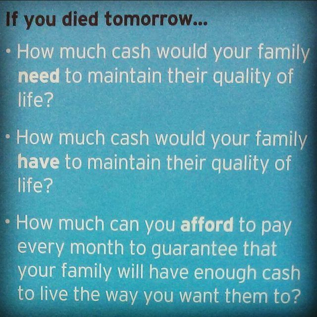 If You Died Tomorrow Lifeinsurance Loveinsurance Insurance
