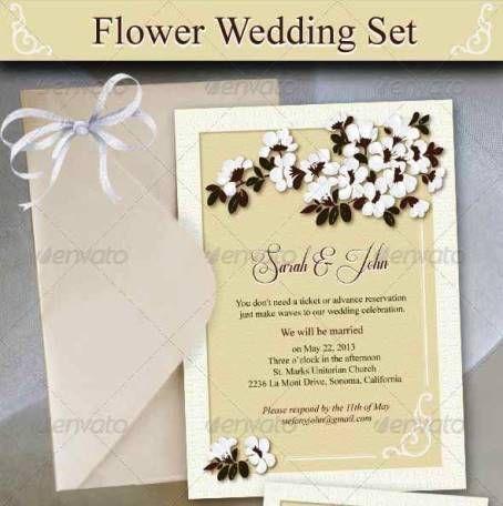 Desain Undangan Pernikahan Terbaik Template Photoshop ...