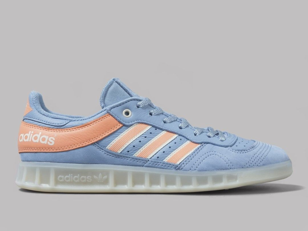 best loved 1dded 9ca5a Adidas Handball Top Oyster in ash blue and chalk coral ...