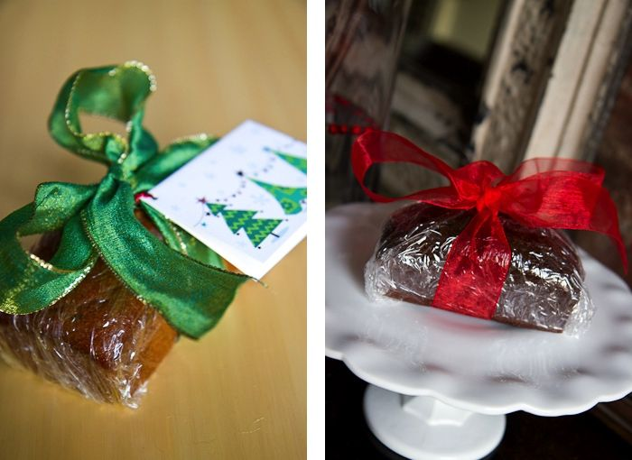 Holiday Gifts Homemade Mini Loaves Yellow table, Homemade and