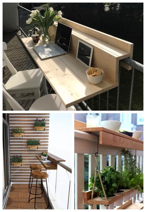Photo of aménagement balcon bar #Balcon #Balcony Garden #Balcony Garden apartment #Balco…