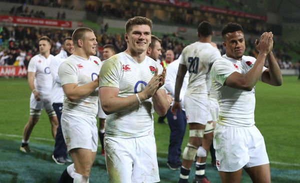 Owen Farrell Anthony Watson By H England Rugby Team Rugby Union England Rugby