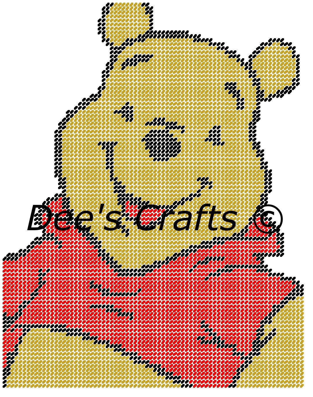 WINNIE the POOH - Disney Collection - CUTOUT - Wall Hanging ...