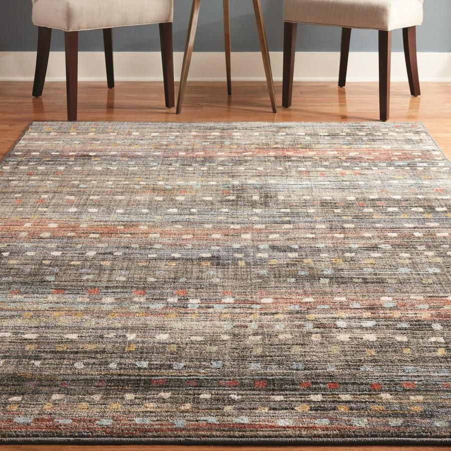 New Styles From The Allen Roth Area Rug Collection Are Now Available Exclusively At Lowe S Favoritearearugs Ru Rustic Area Rugs Area Rugs Allen And Roth Rugs