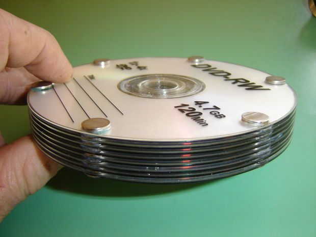 Build an Amazing Tesla CD Turbine #recycledcd