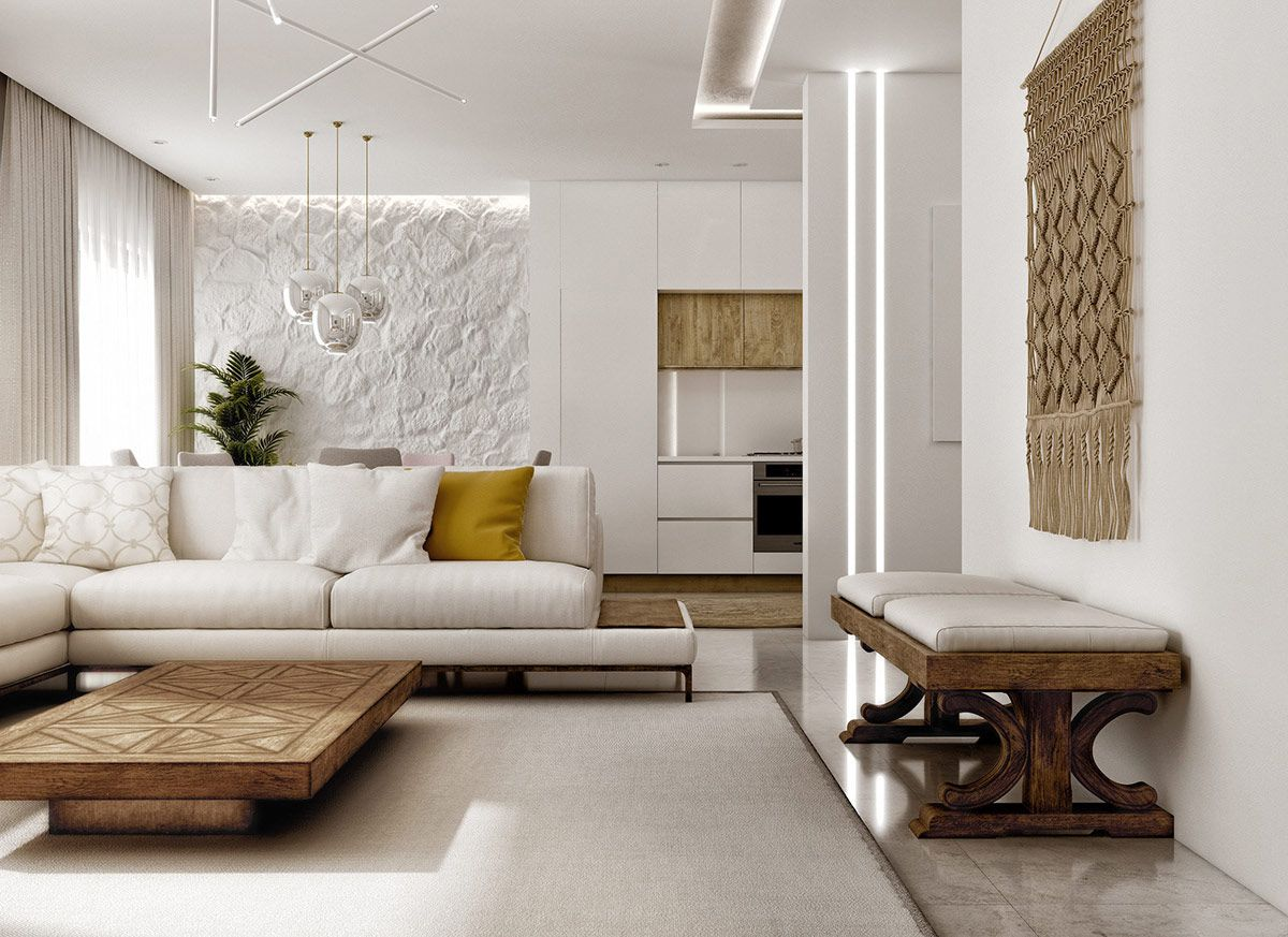 Photo of Modern Mediterranean Style Interior Design
