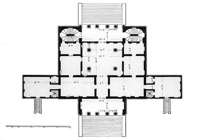 Villa Cornaro Piombino Dese Padova Progettata Da Andrea