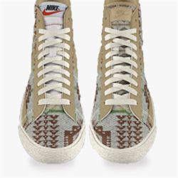 cheaper 41885 a4c8e Nike Blazer Mid Premium Pendleton iD Shoe ...