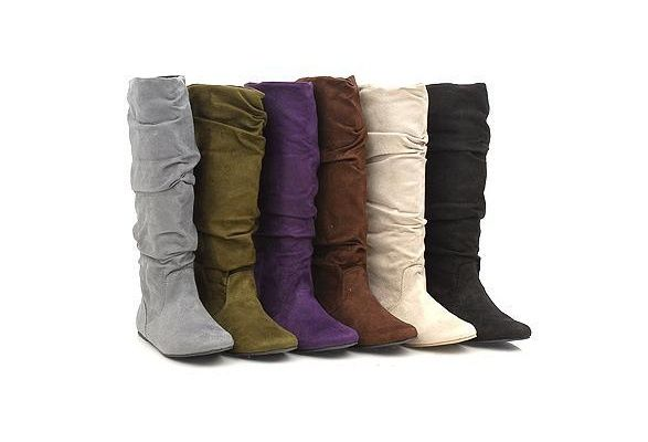 Wish | Suede Boots