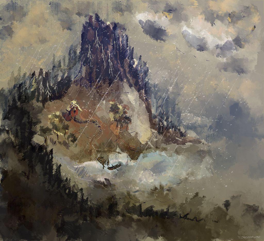 ArtStation - Small World, Yan Ostretsov
