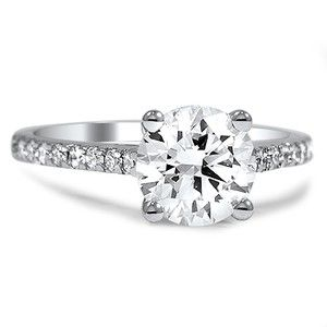 Pee French Pave Diamond Ring Brilliantearth Custom