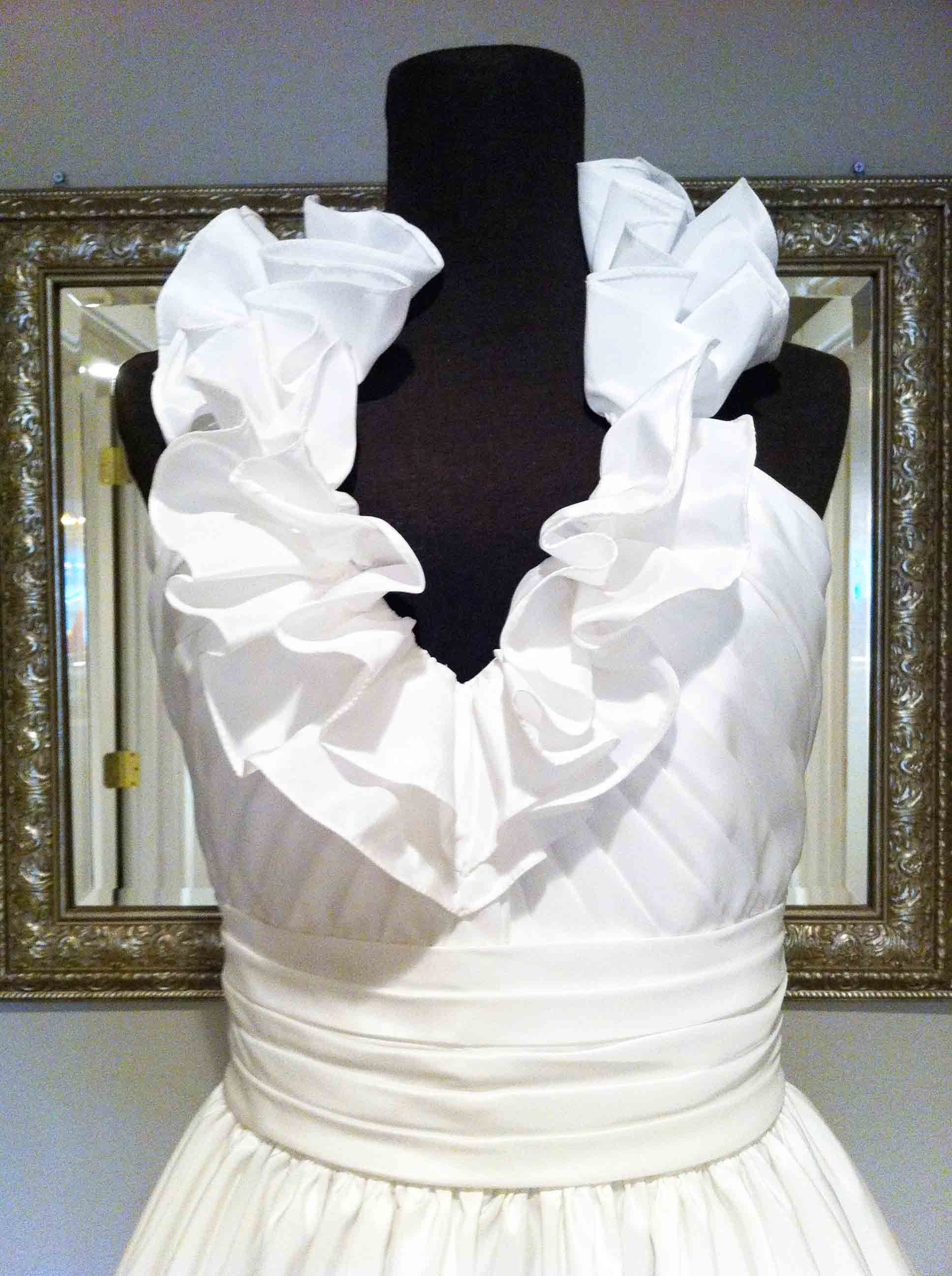 How to make a ruffle collar dress google search sewing how to make a ruffle collar dress google search ombrellifo Gallery