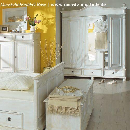 Traumwelten, die mit #Landhausmöbeln von wwwmassiv-aus-holzde wahr - schlafzimmer kiefer massiv